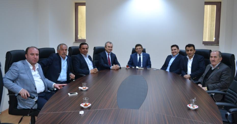 Öztürk, MHP Meclis Grubunu Ziyaret Etti