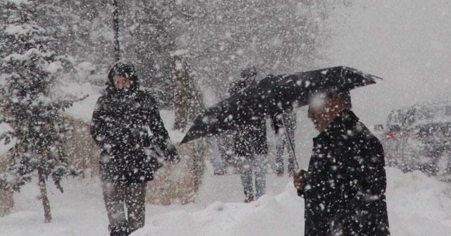 Denizli ve İlçelerinde Kar yağışı başladı