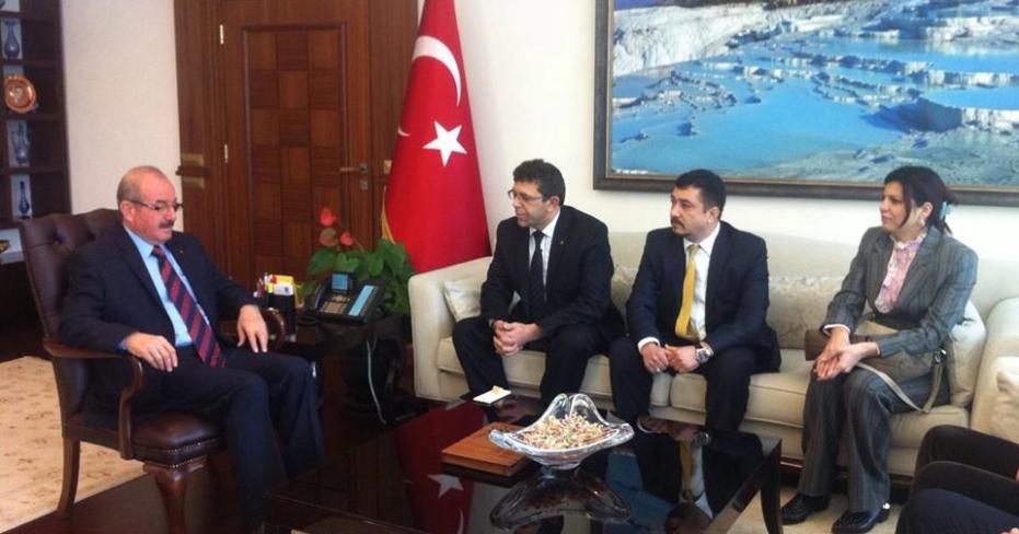 Yeni MHP İl Yönetimi Resmi Ziyaretlere Başladı
