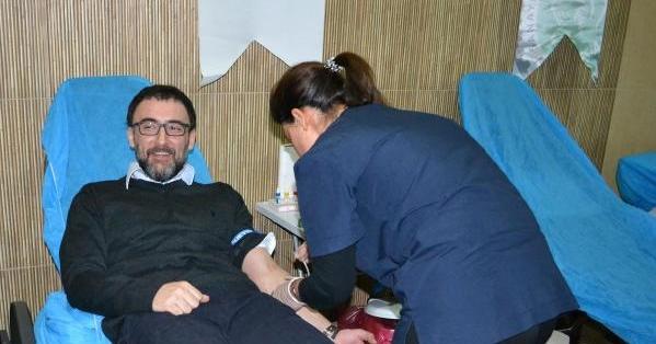 DESİAD Üyelerinden Kan Bağışıında Bulundu