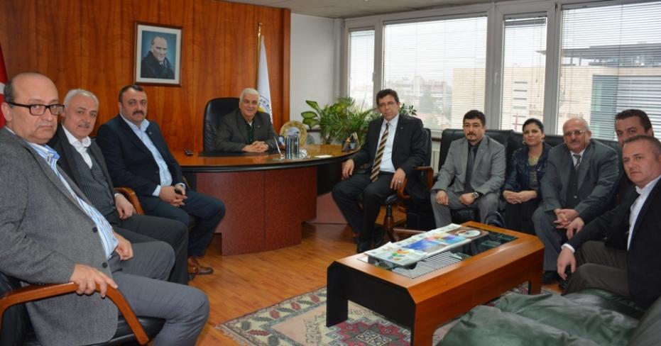 MHP İl Yönetimi Sanayi Odasını Ziyaret Etti