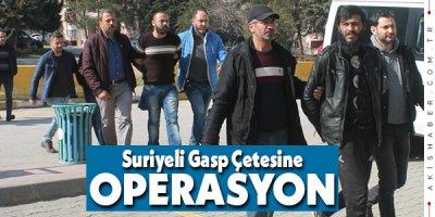 Denizli'de 4 Suriyeli Haydut Tutuklandı