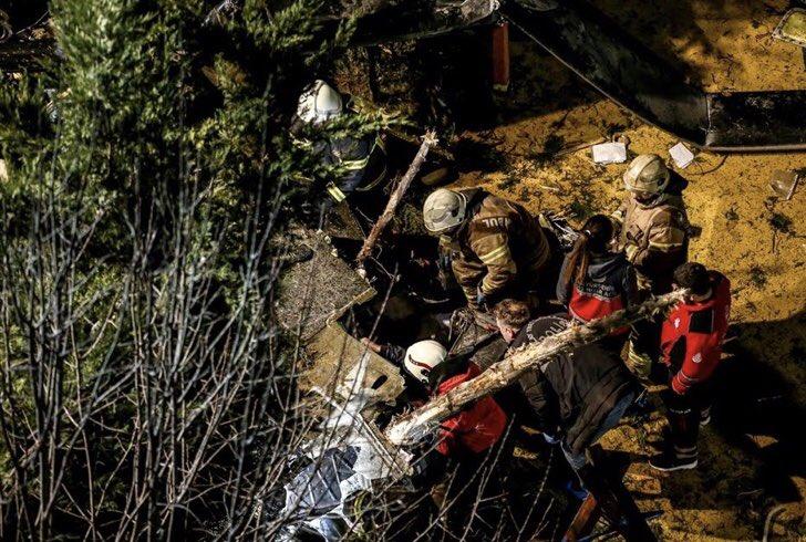 İstanbul helikopter kazası şehit